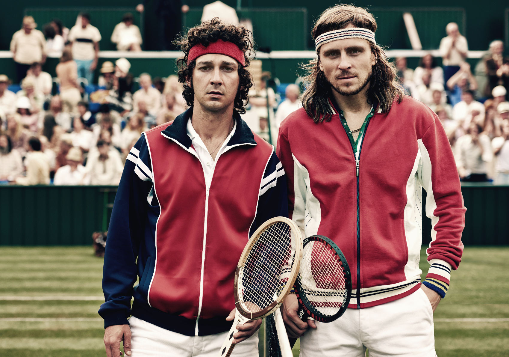 Borg/McEnroe Copyright: Julie Vrabelová Image courtesy of Nordisk Film