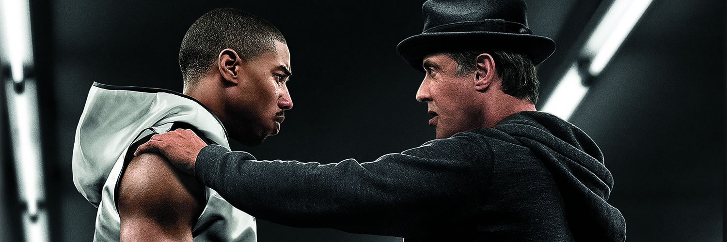 """Films that Inspire a Career in Sport - Michael B. Jordan and Sylvester Stallone starring in Creed - image credit © 2015 Metro-Goldwyn-Mayer Pictures Inc. and Warner Bros. Entertainment Inc. All Rights Reserved"""""""