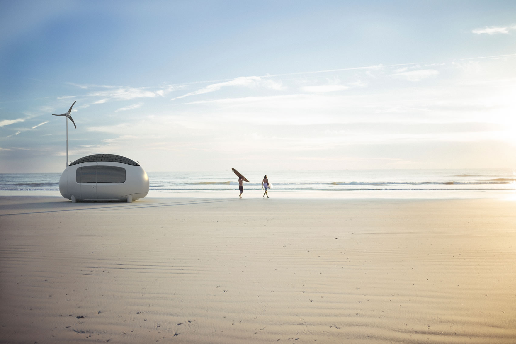 The first series of Ecocapsules ® is on the way - image credit and source: ©Ecocapsule Holding
