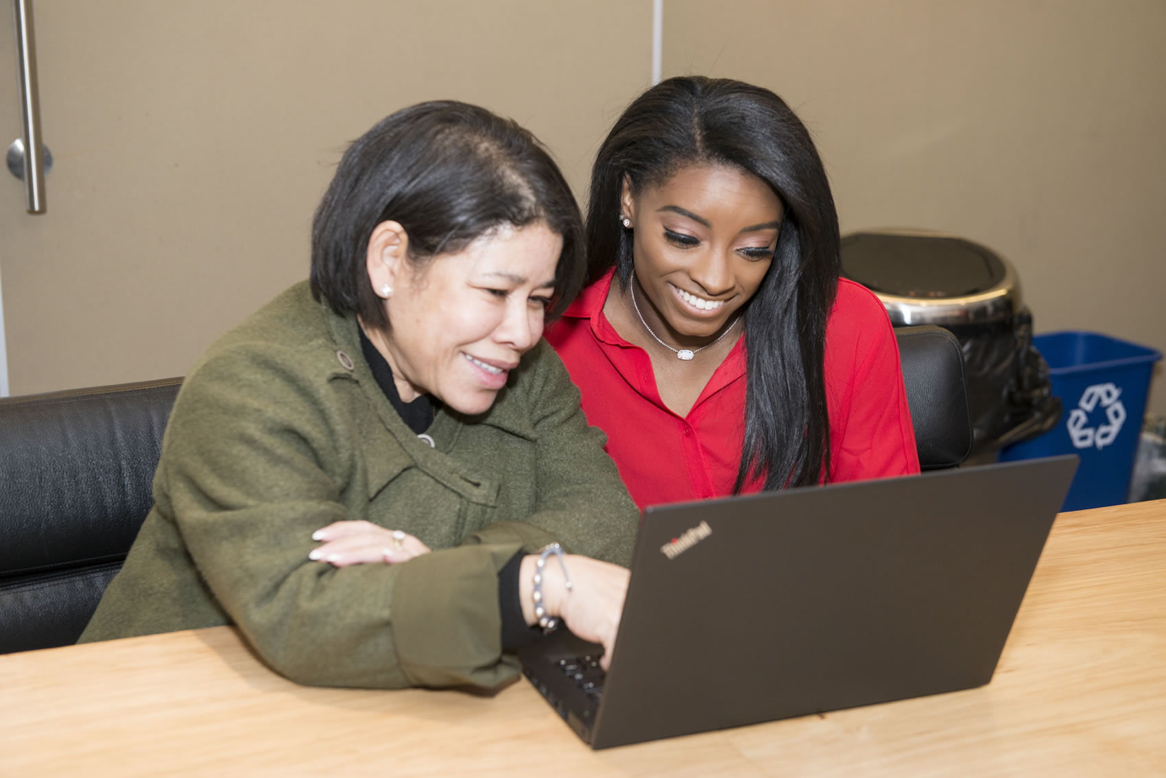 Simone Biles Joins the Education Revolution - studying alongside Simone will be her mother, Nellie Biles, who begins as a student in the university's MBA program.