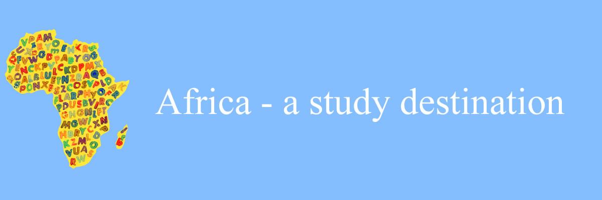 Africa a study destination! *Image source: http://www.istockphoto.com Copyright: FotografiaBasica