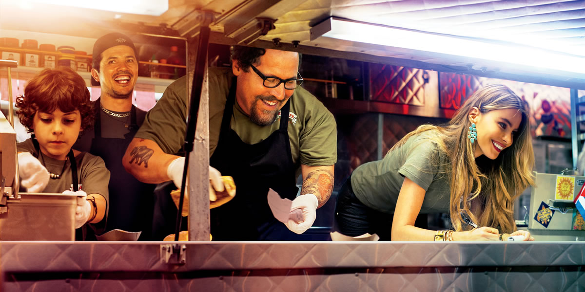 Chef starring, written and directed by Jon Favreau* Image source and credit - Aldamisa Entertainment