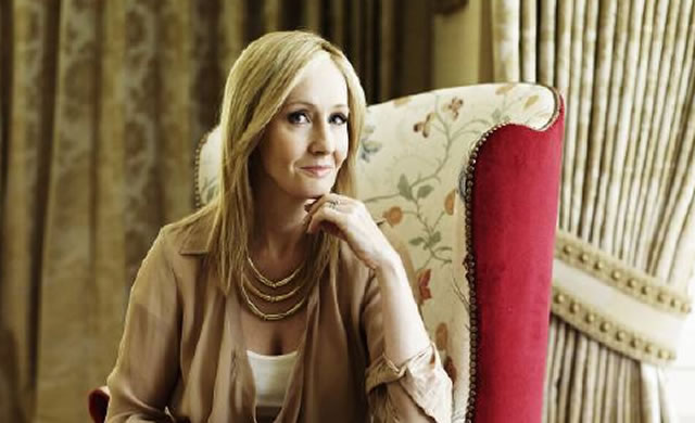 J.K. Rowling © Wall to Wall Media Ltd. Photographer:Andrew Montgomery