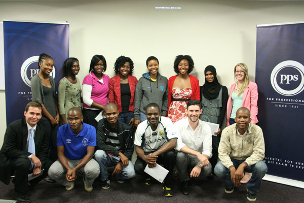 PPS Bursary & Scholarship applicants and recipients at Wits University