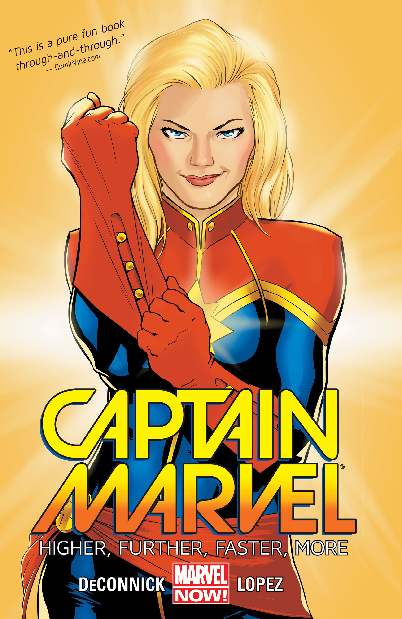 Captain Marvel - not your average superhero career! Image Credit: Marvel Entertainment, LLC
