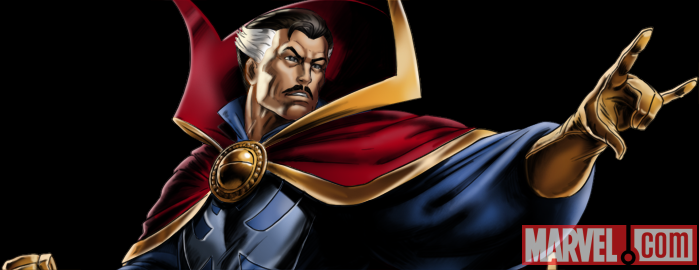 Superhero Careers: Dr. Strange from Marvel: Avengers Alliance Credit: Marvel Entertainment, LLC