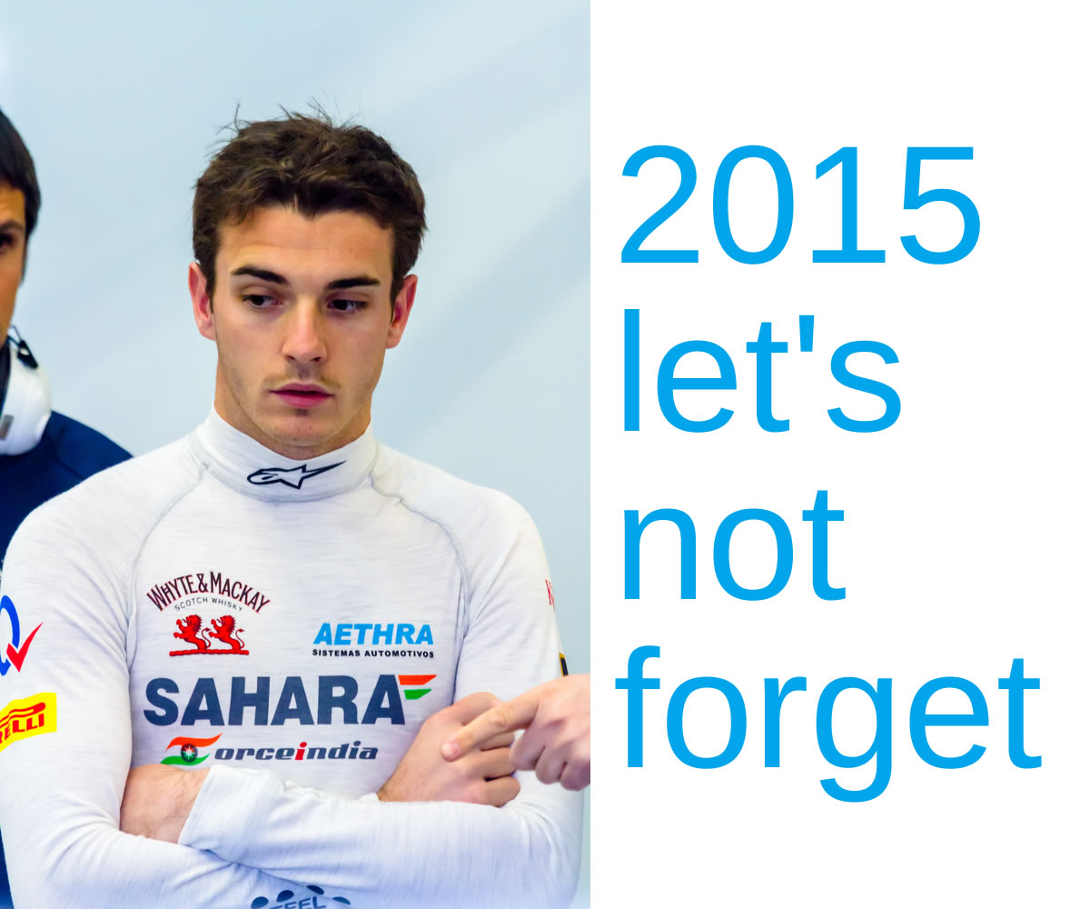 2015 Sports Wrap-up - Remembering Jules Bianchi - Copyright: David Acosta Allely Image Credit: David Acosta Allely / Shutterstock.com
